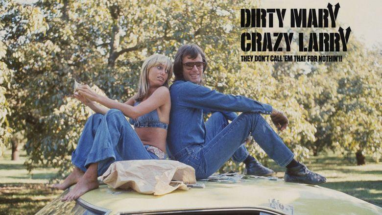 Dirty Mary, Crazy Larry movie scenes
