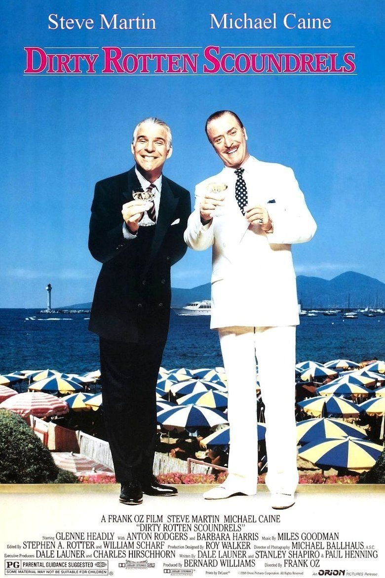 Dirty Rotten Scoundrels (film) movie poster
