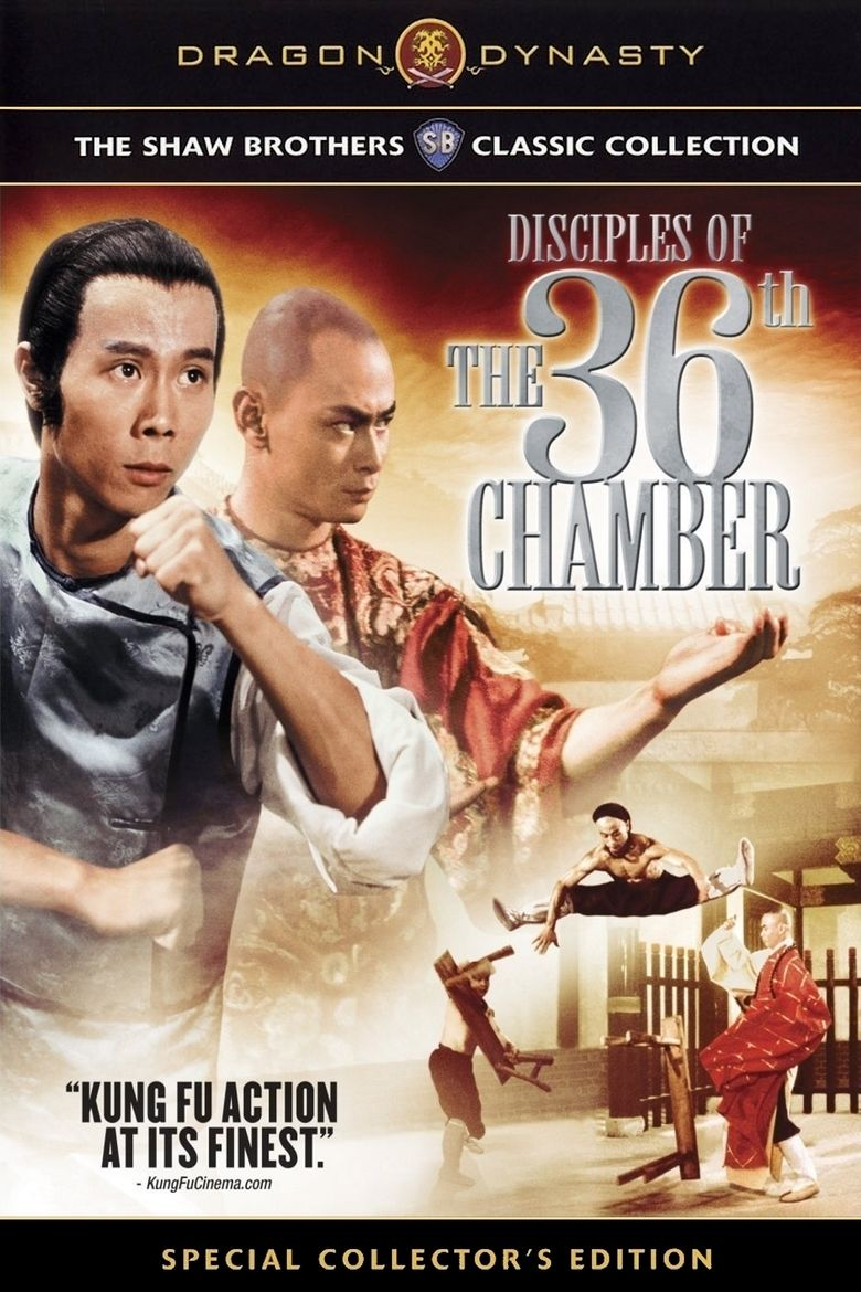 Disciples of the 36th Chamber movie poster