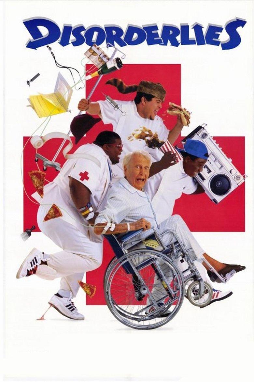 Disorderlies movie poster