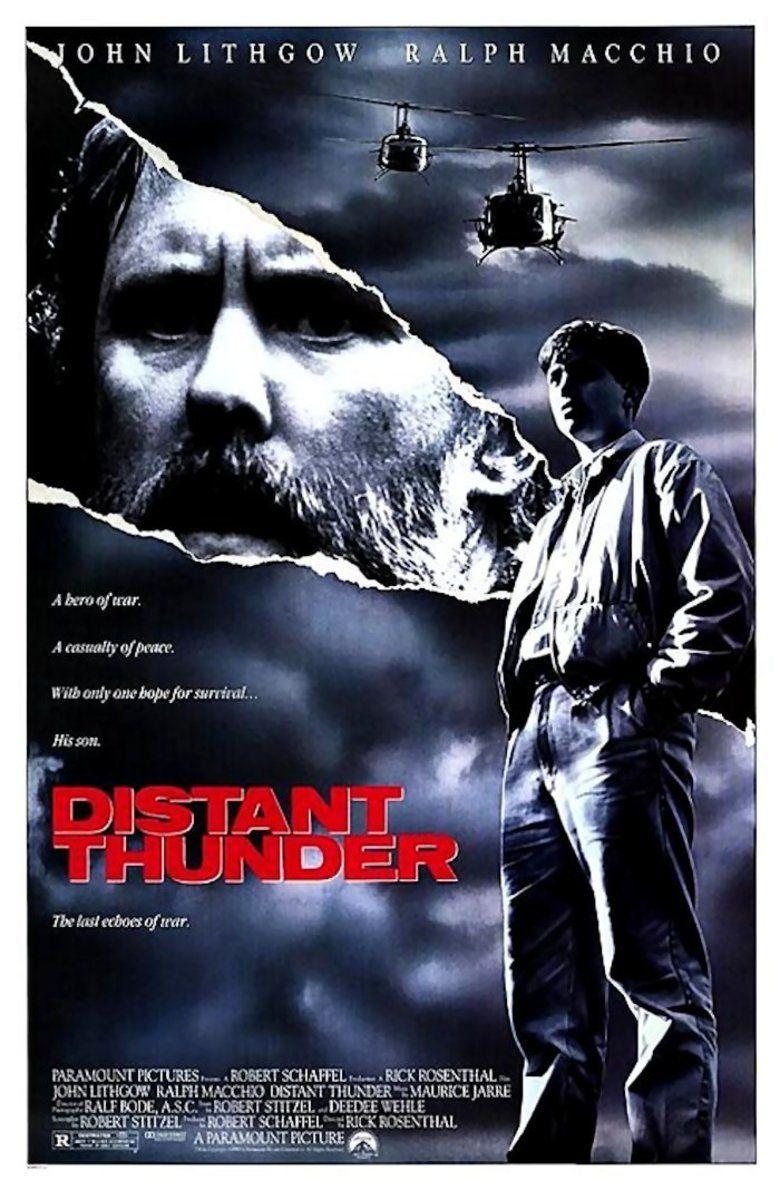 Distant Thunder (1988 film) movie poster