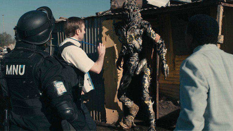 District 9 movie scenes