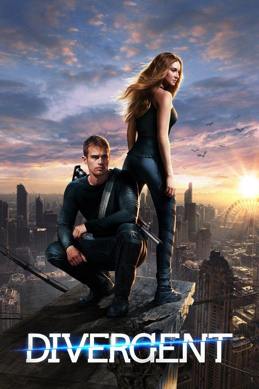 Divergent (film) movie poster