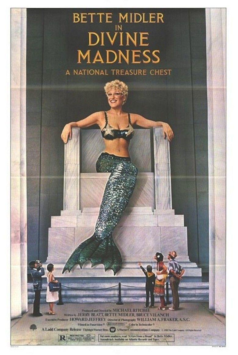 Divine Madness (film) movie poster