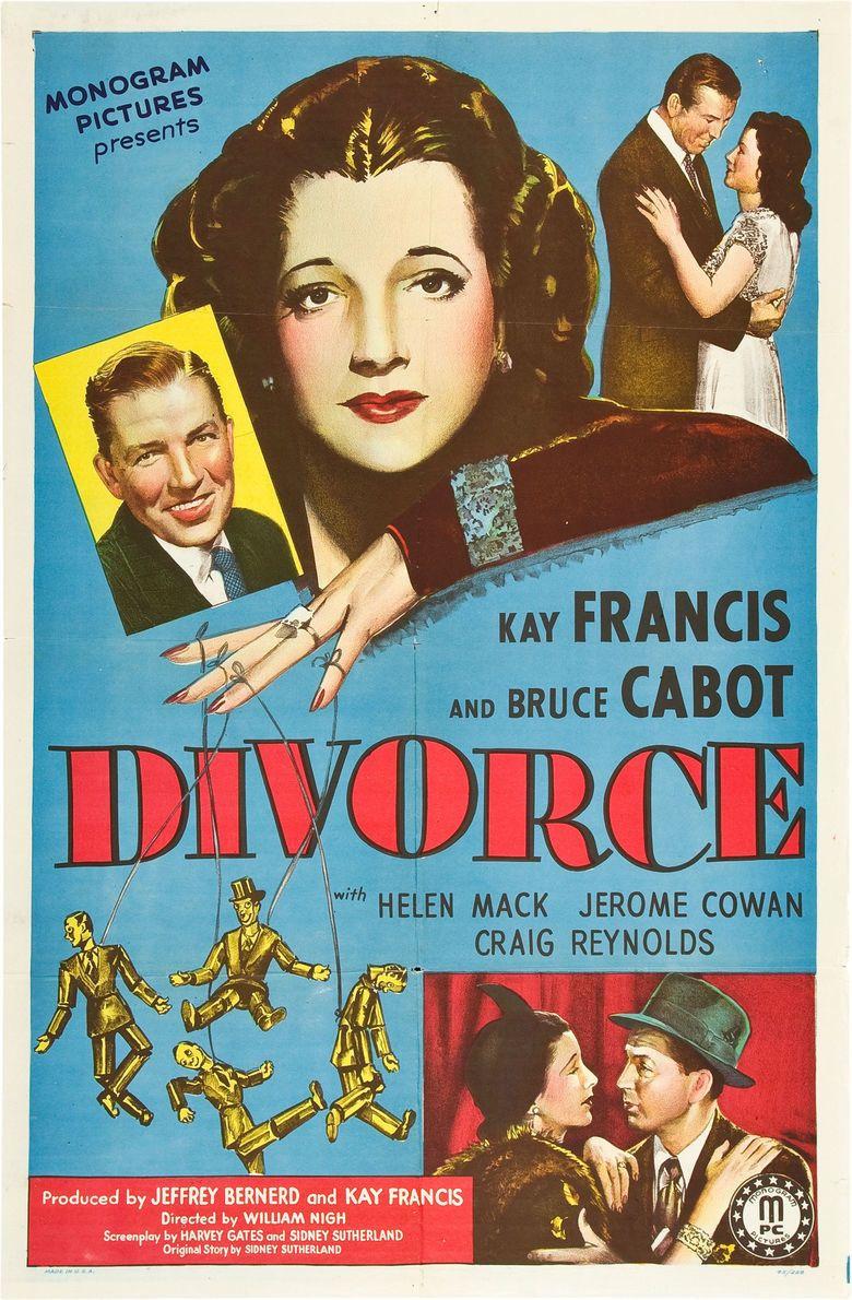 Divorce (film) movie poster