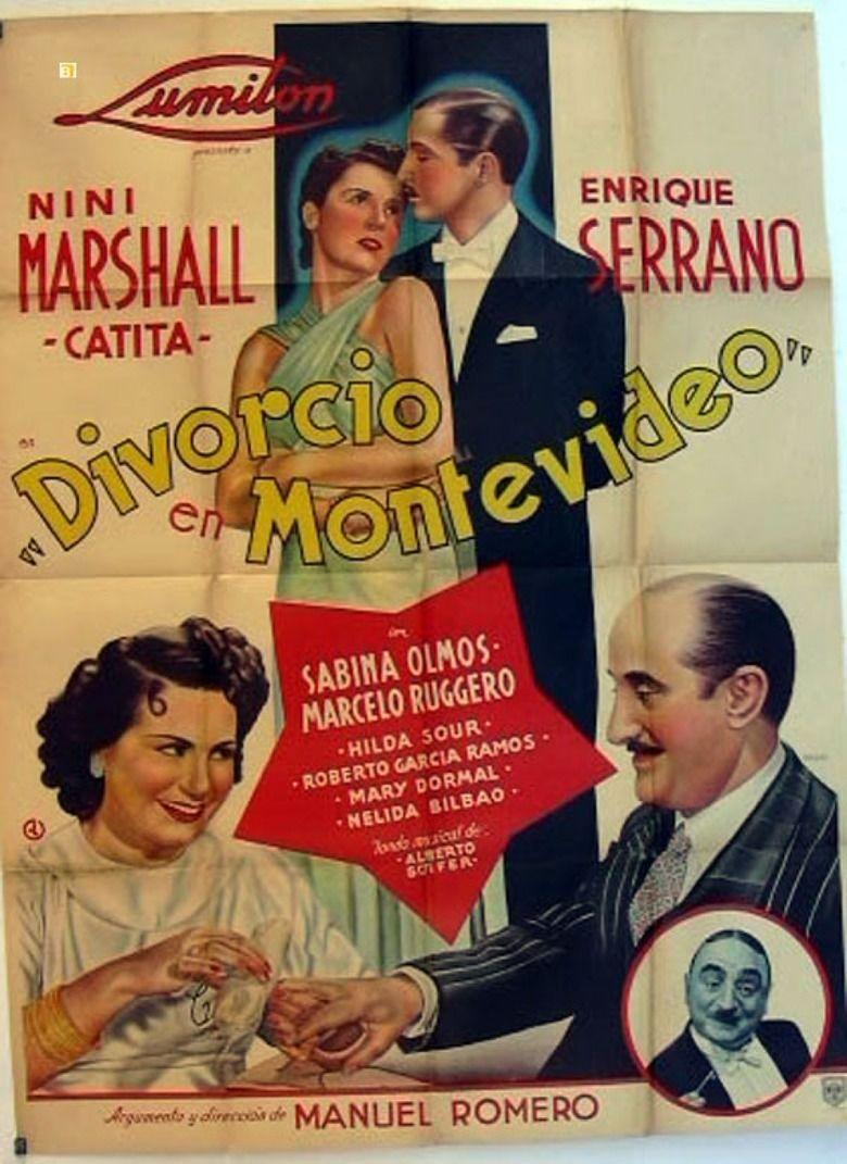 Divorce in Montevideo movie poster