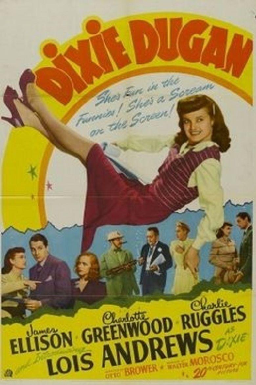 Dixie Dugan (film) movie poster