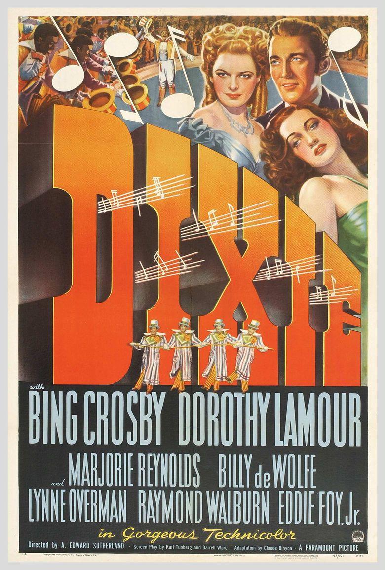 Dixie (film) movie poster
