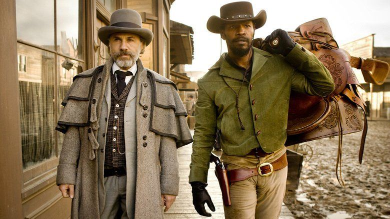 Django Unchained movie scenes
