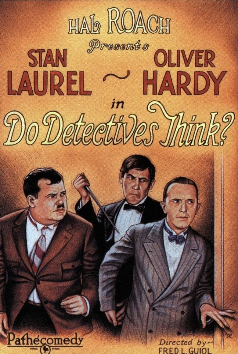Do Detectives Think movie poster
