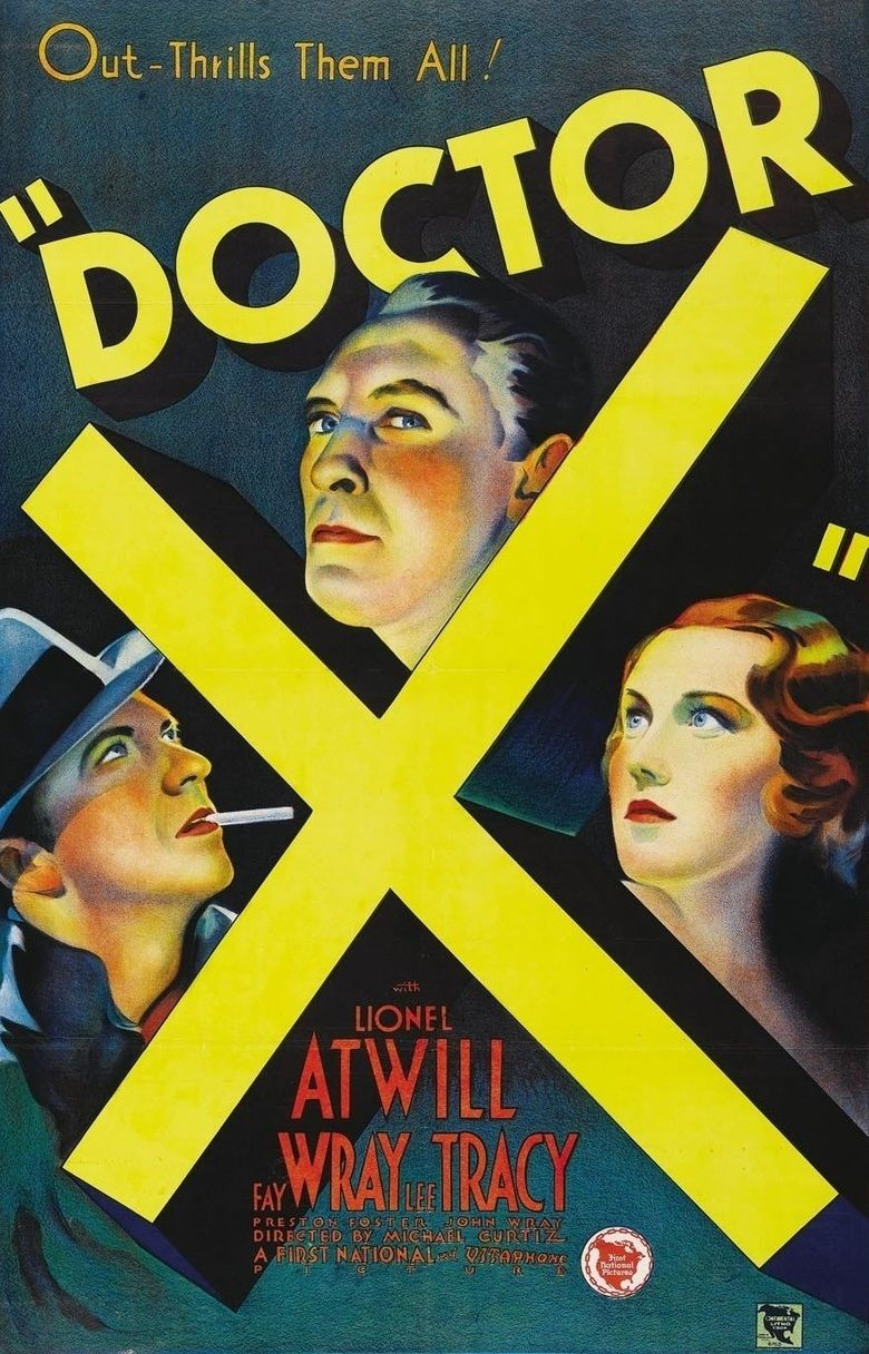 Doctor X (film) movie poster