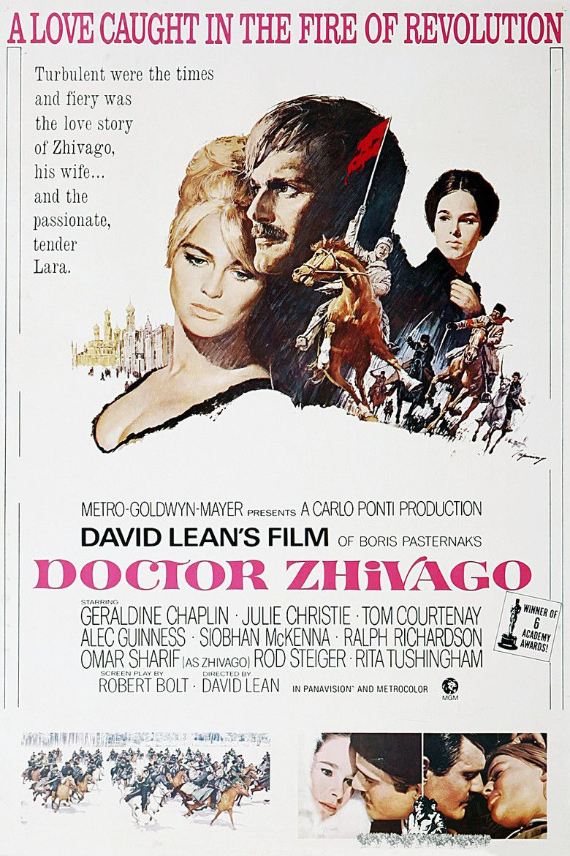 Doctor Zhivago (film) movie poster