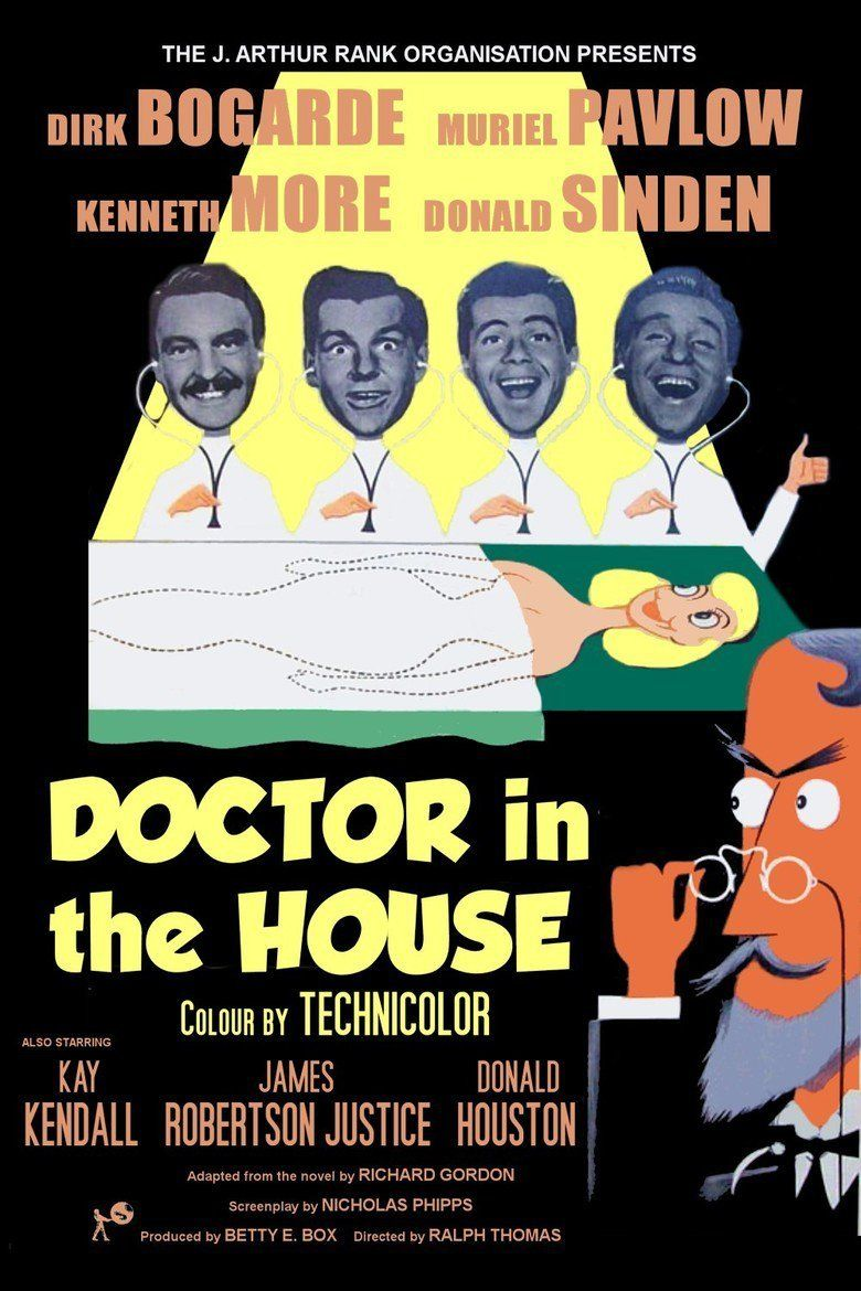 Doctor in the House movie poster