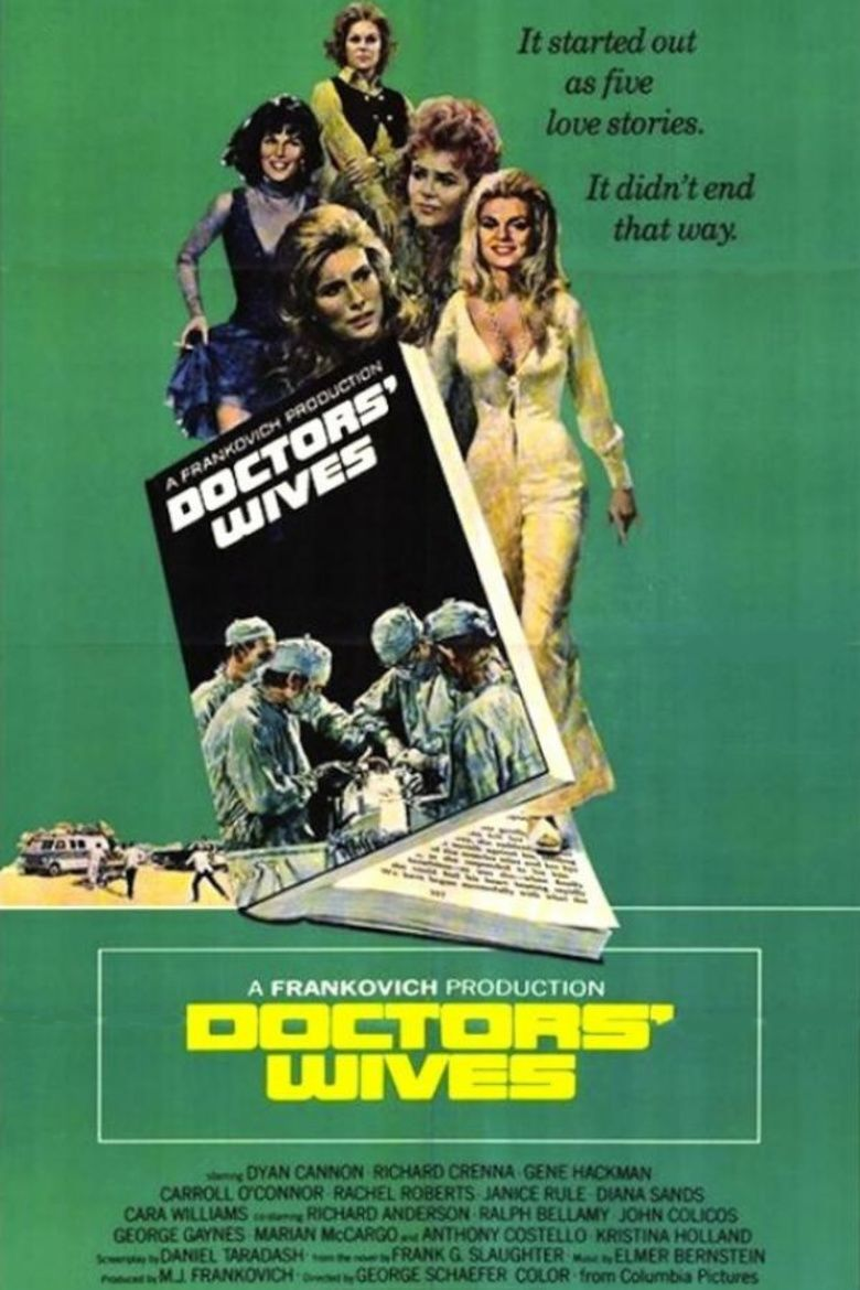 Doctors Wives (1971 film) movie poster
