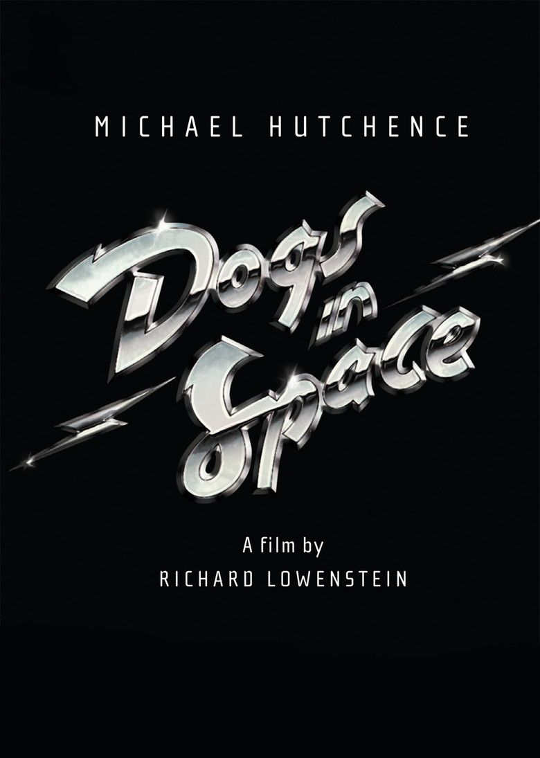 Dogs in Space movie poster