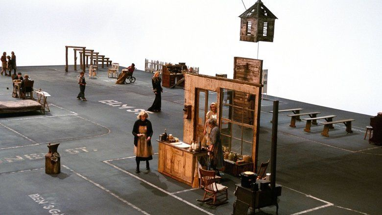 Dogville movie scenes