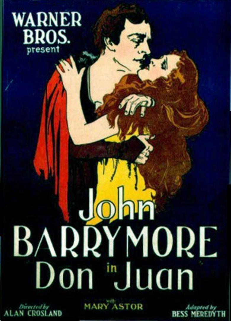 Don Juan (1926 film) movie poster