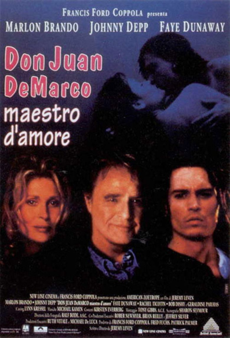 Don Juan DeMarco movie poster