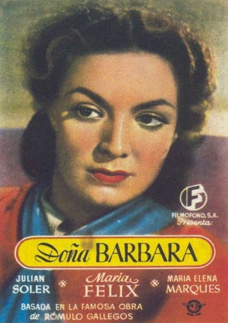 Dona Barbara (1943 film) movie poster