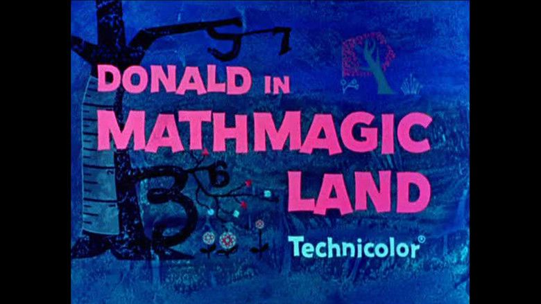 Donald in Mathmagic Land movie scenes