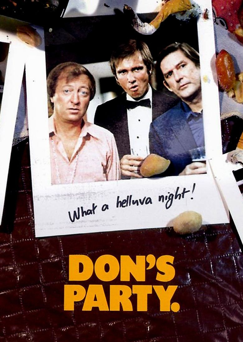 Dons Party movie poster