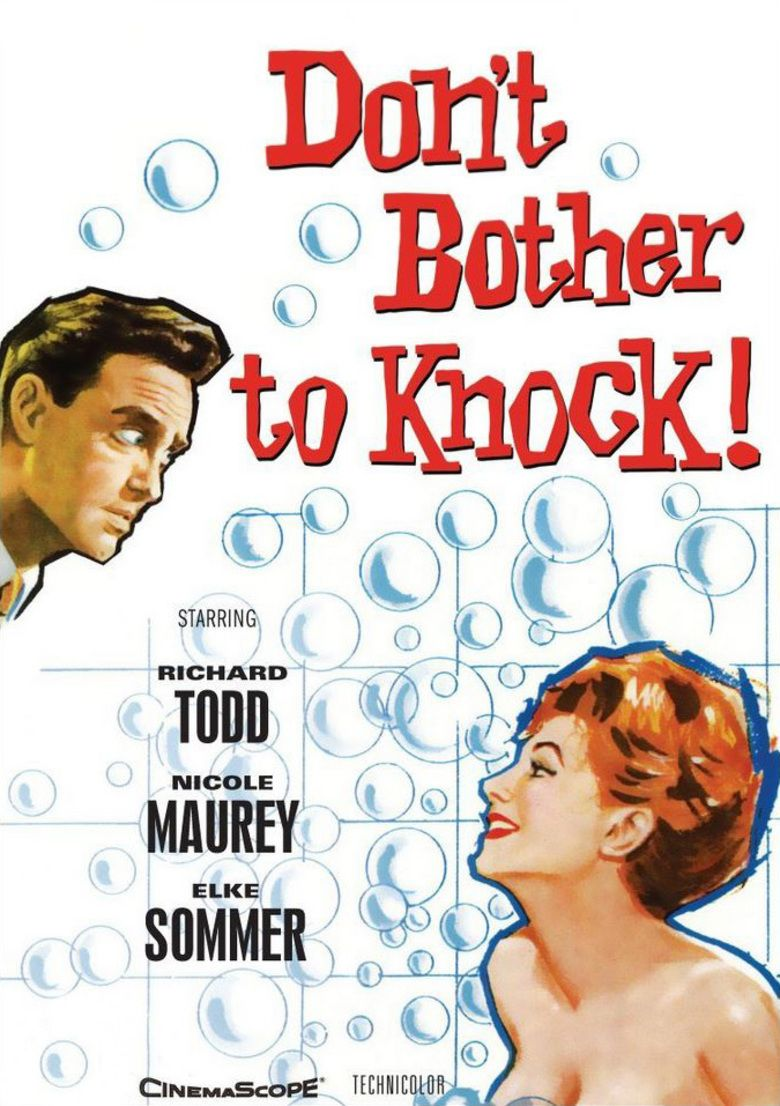 Dont Bother to Knock (1961 film) movie poster