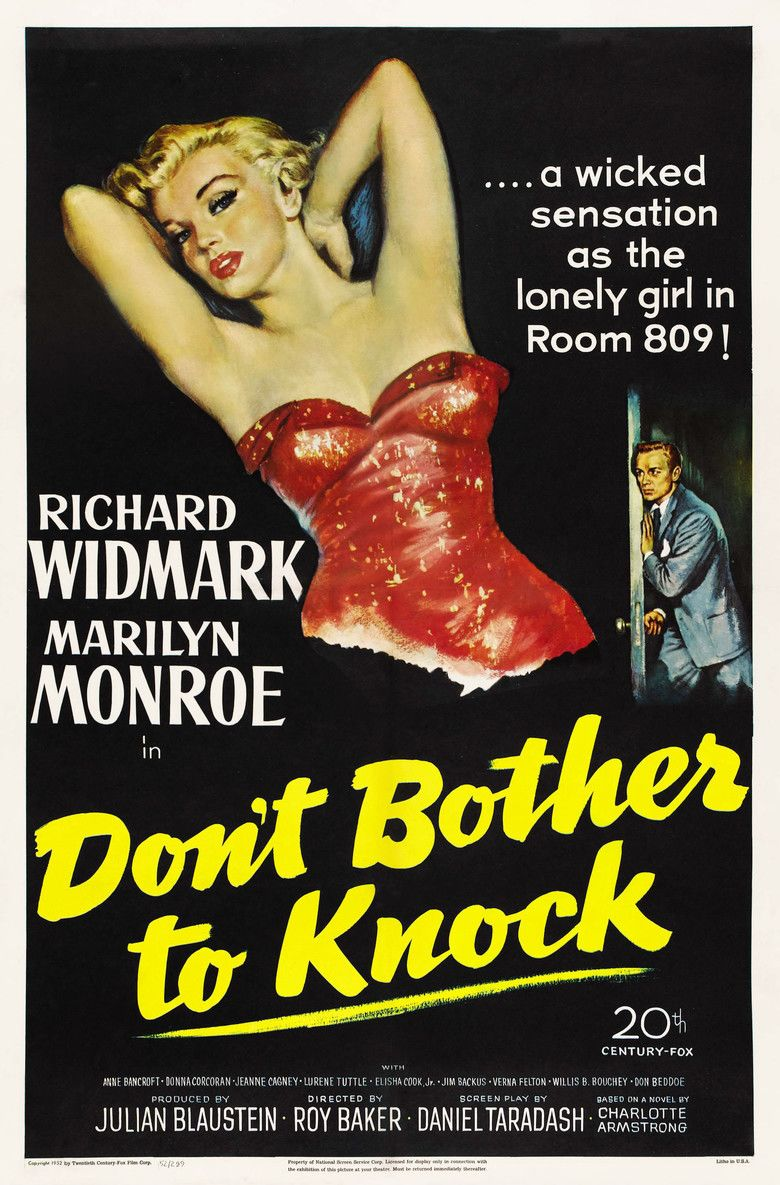Dont Bother to Knock movie poster