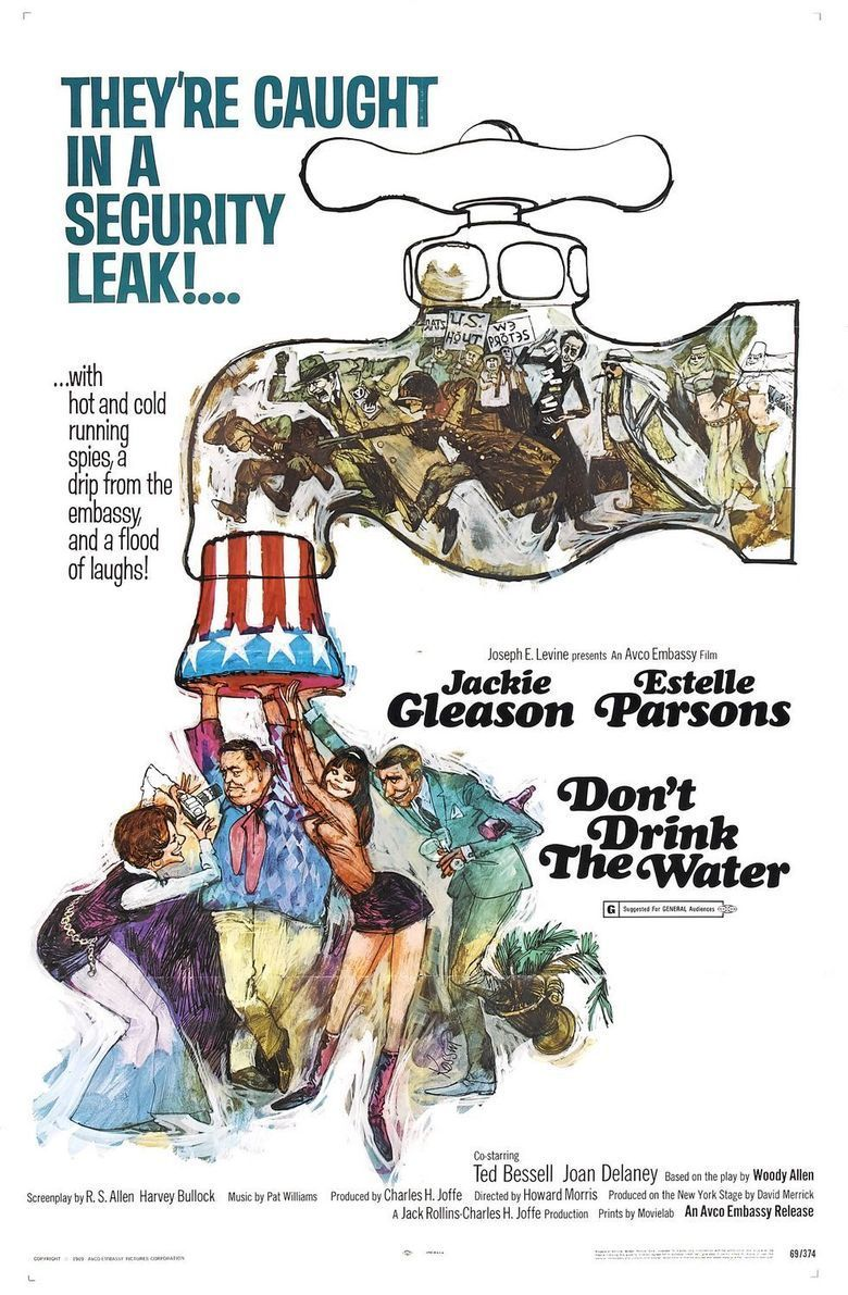 Dont Drink the Water (1969 film) movie poster