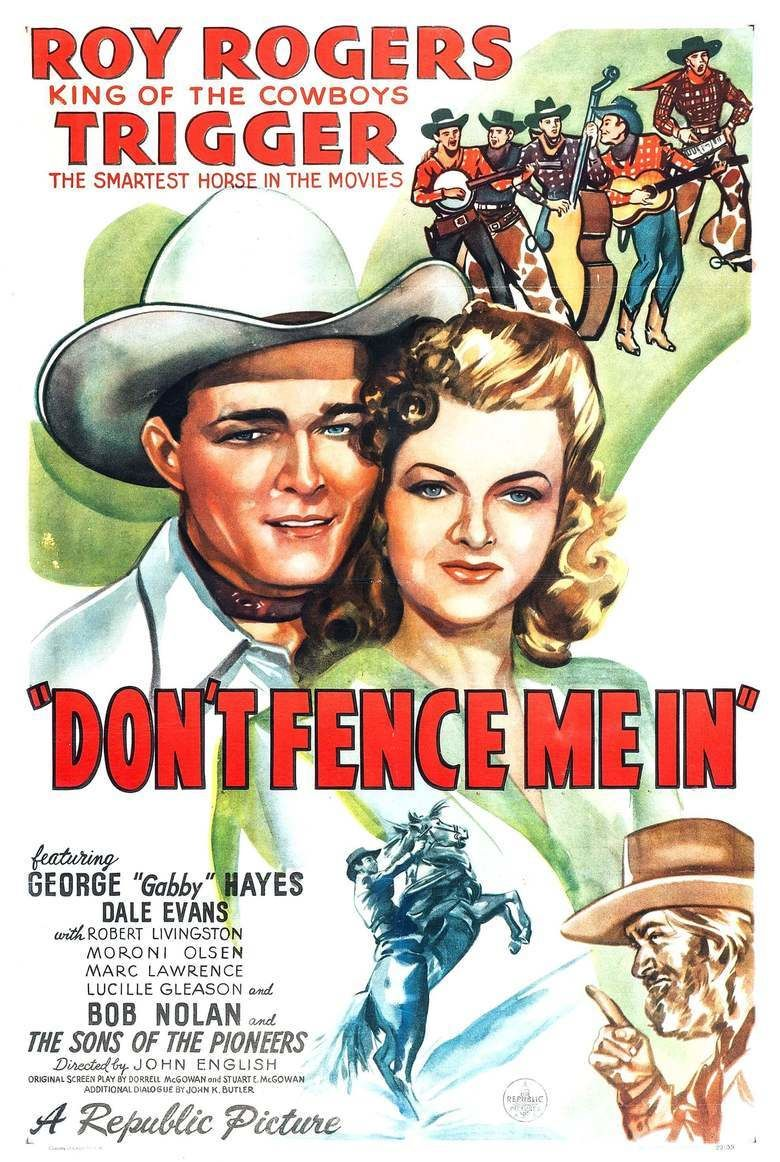 Dont Fence Me In (film) movie poster