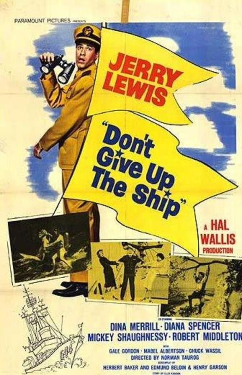 Dont Give Up the Ship (film) movie poster