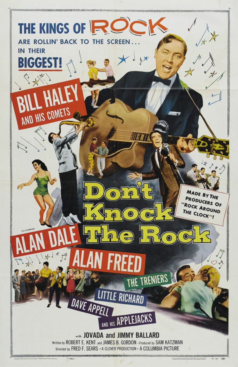 Dont Knock the Rock movie poster