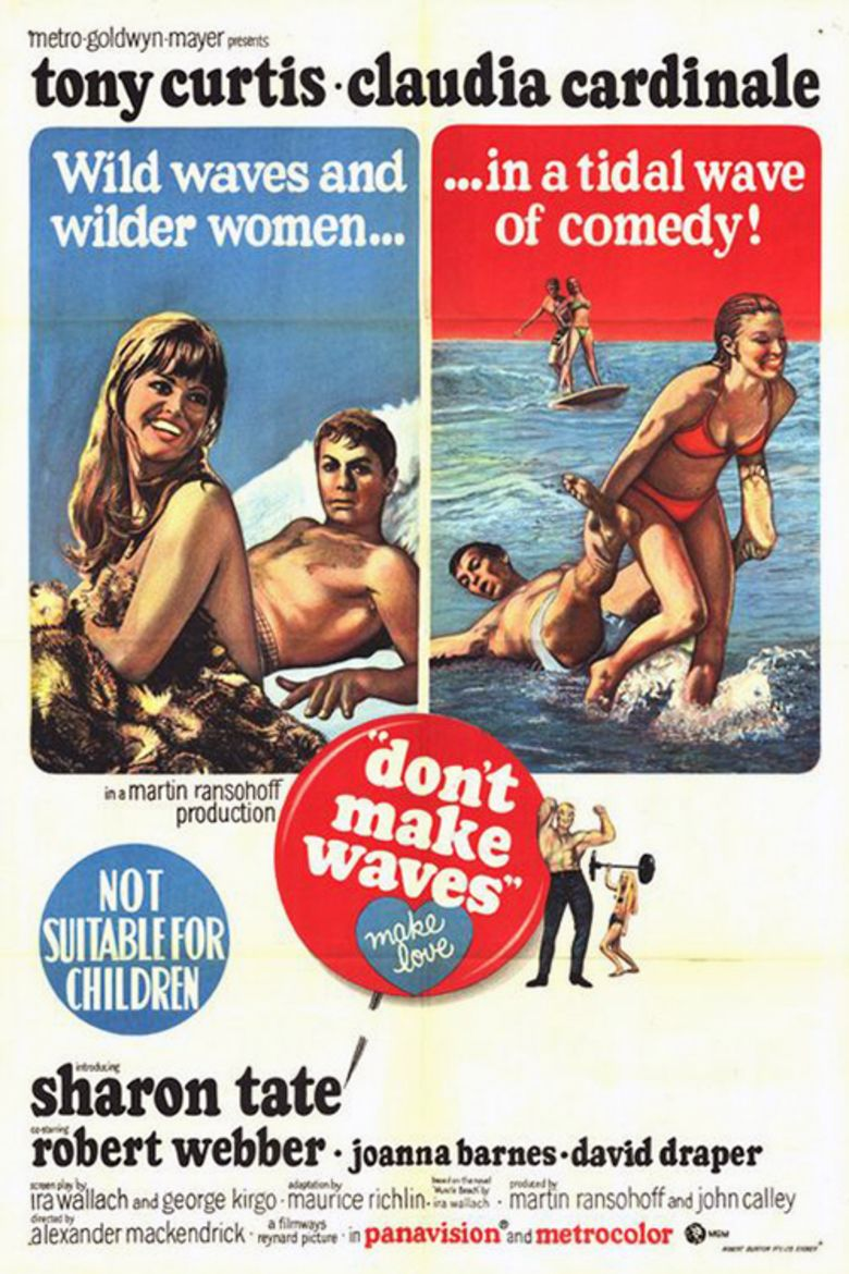 Dont Make Waves movie poster