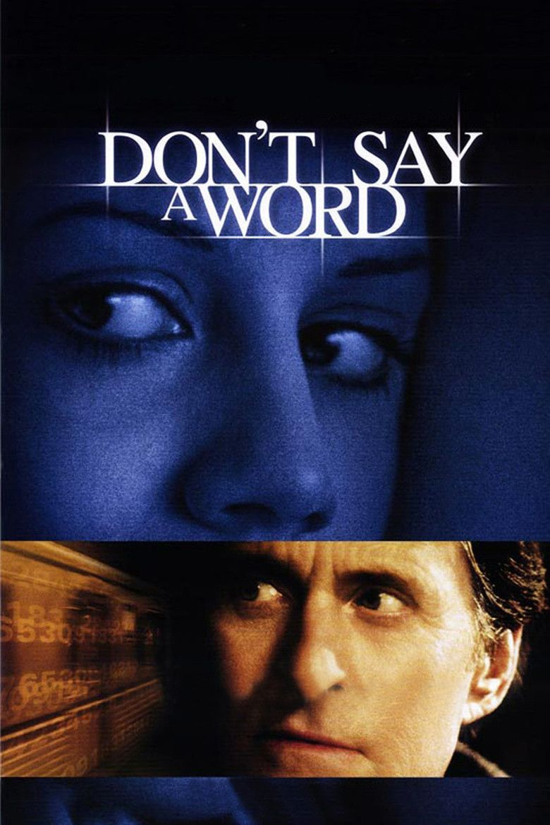Dont Say a Word movie poster