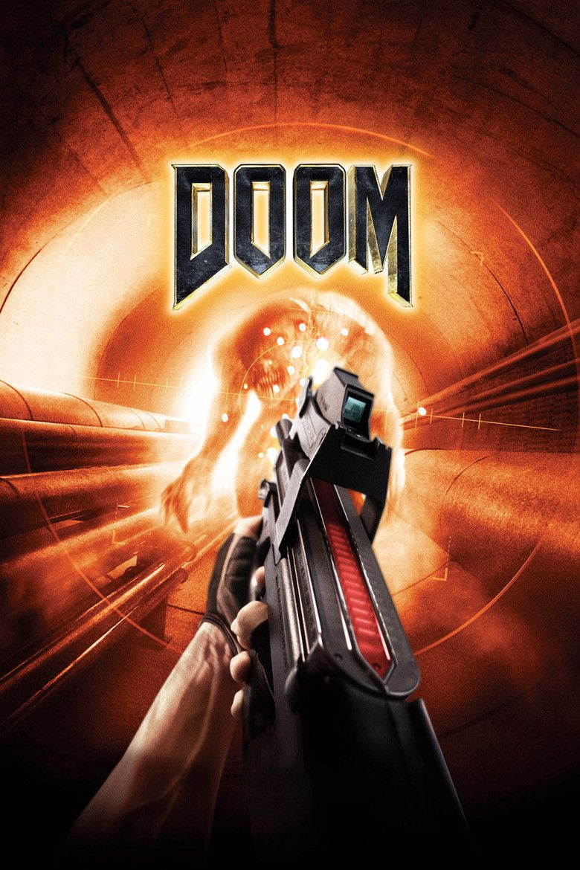 Doom (film) movie poster