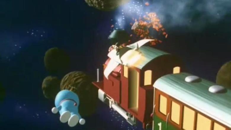 Doraemon: Nobita and the Galaxy Super express movie scenes