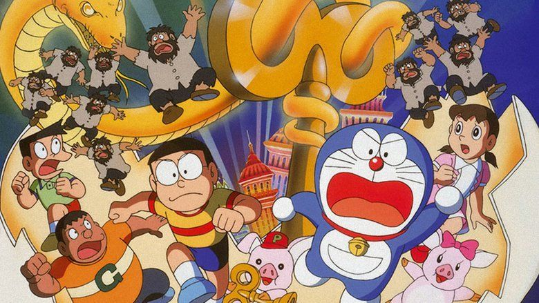 Doraemon: Nobita and the Spiral City movie scenes