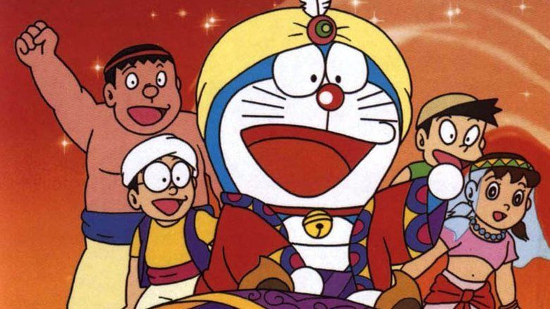 Doraemon: Nobitas Dorabian Nights movie scenes