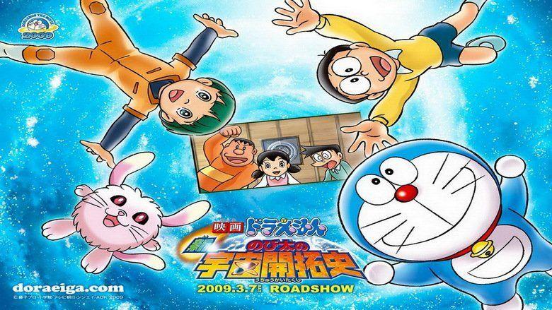 Doraemon the Movie: Nobitas Spaceblazer movie scenes