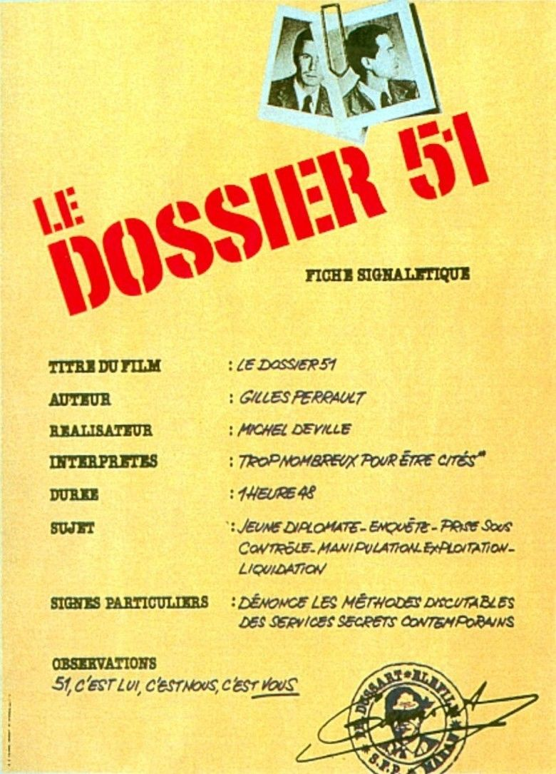 Dossier 51 movie poster