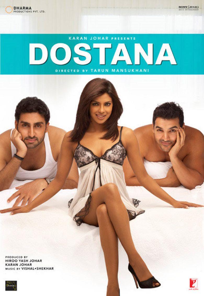 Dostana (2008 film) movie poster