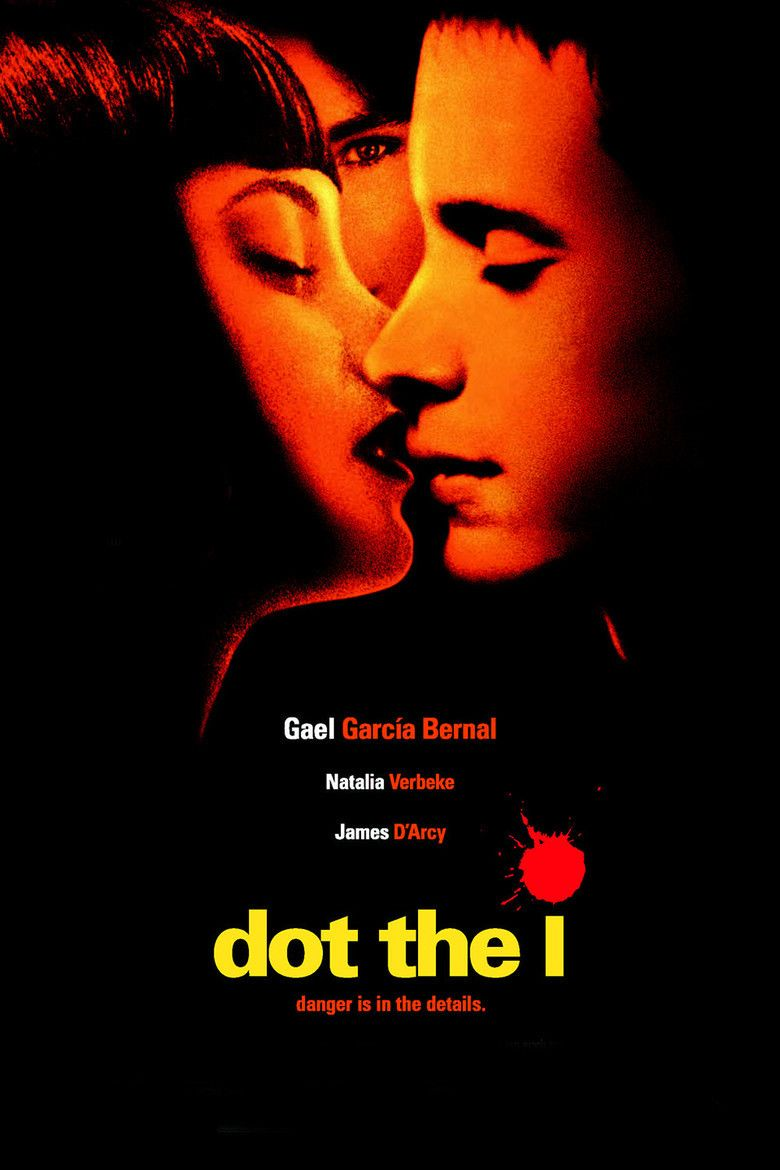 Dot the i movie poster