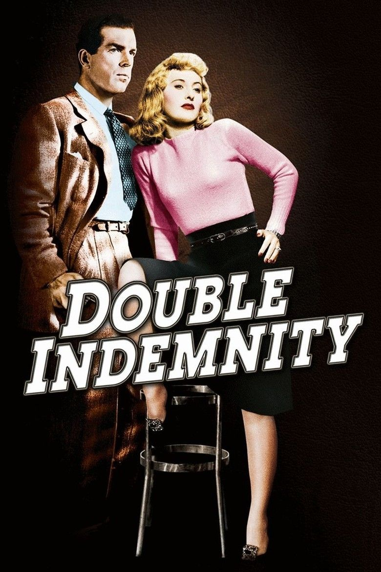 Double Indemnity (film) movie poster