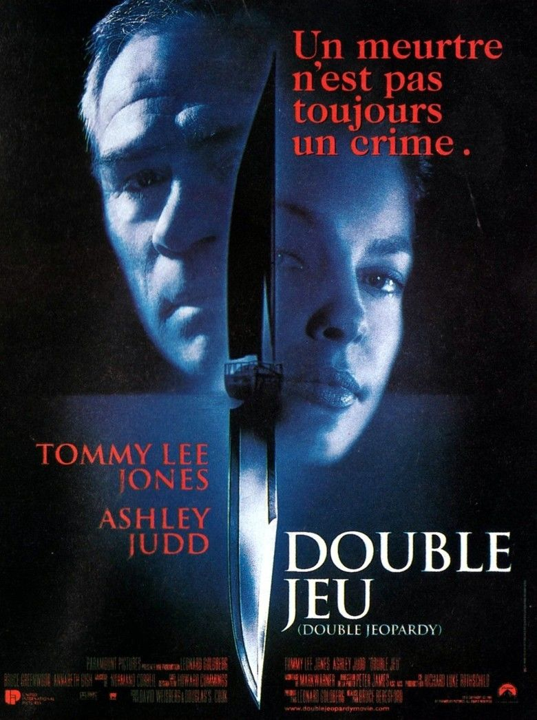 Double Jeopardy (film) movie poster