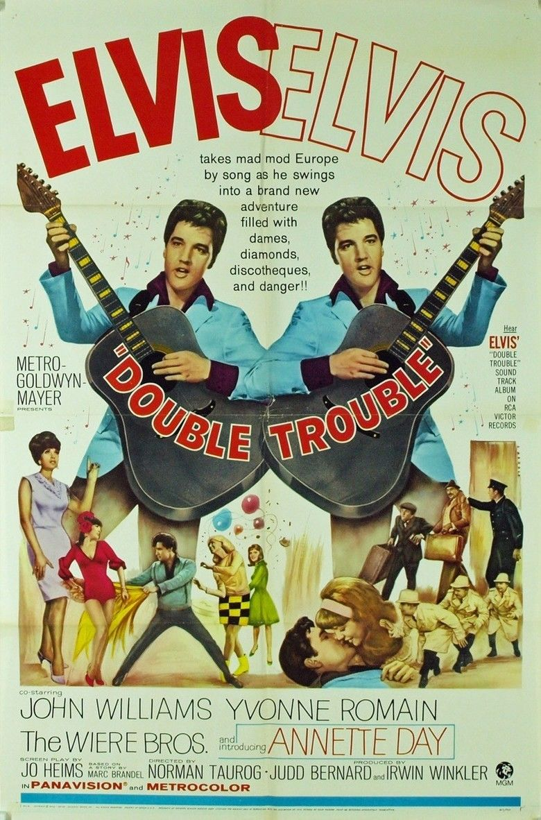 Double Trouble (1967 film) movie poster