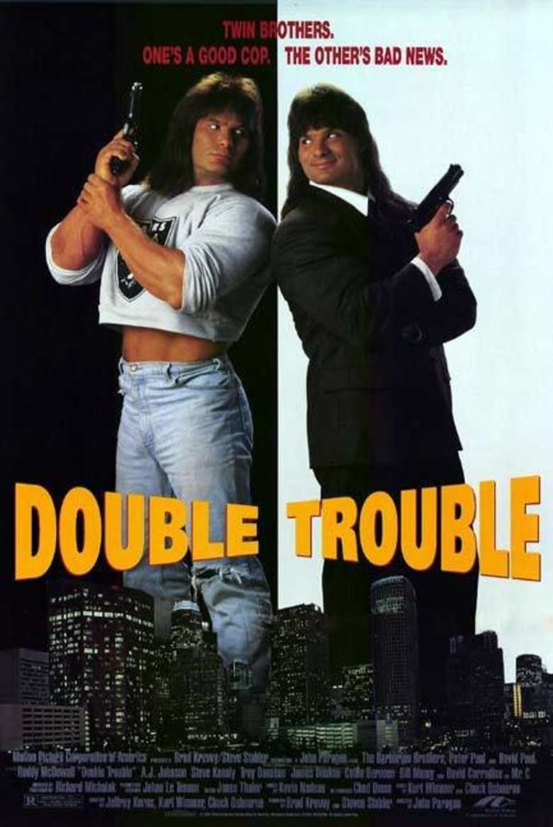Double Trouble (1992 film) movie poster