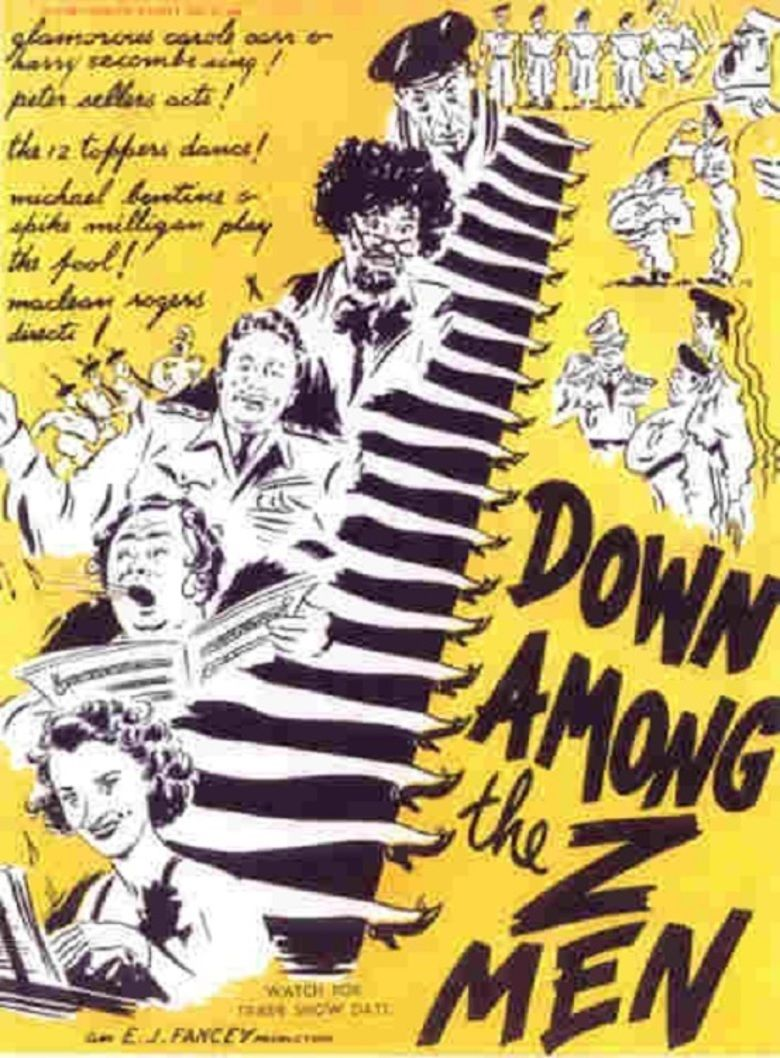 Down Among the Z Men movie poster