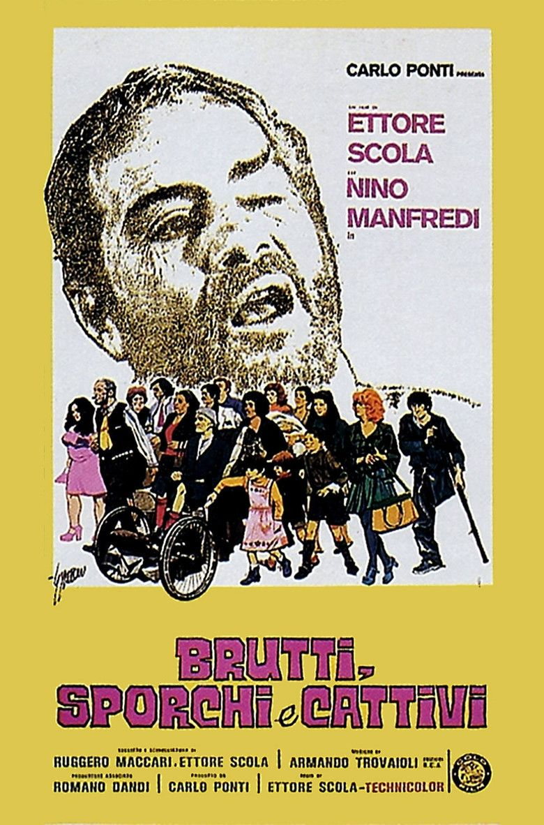 Down and Dirty (film) movie poster