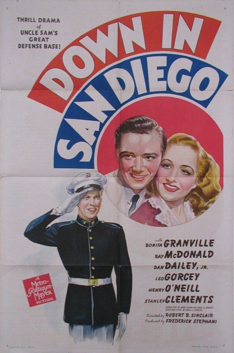 Down in San Diego movie poster