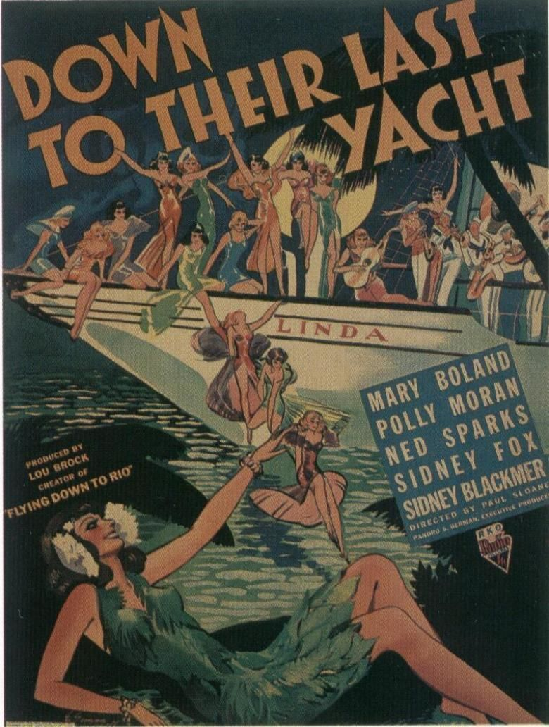 Down to Their Last Yacht movie poster