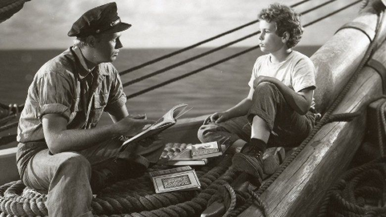 Down to the Sea in Ships (1949 film) movie scenes